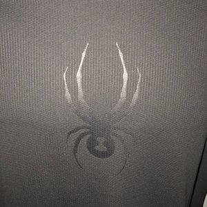 Spyder Shirts & Tops - NWT NEW SPYDER DRYWEB GRAY SHIRT HOYS XL 18/20